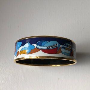 Vintage Hermès boat bangle
